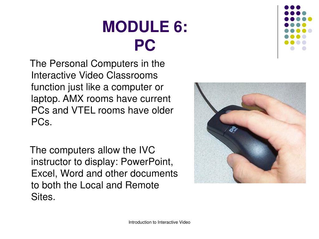 module 6 pc l.