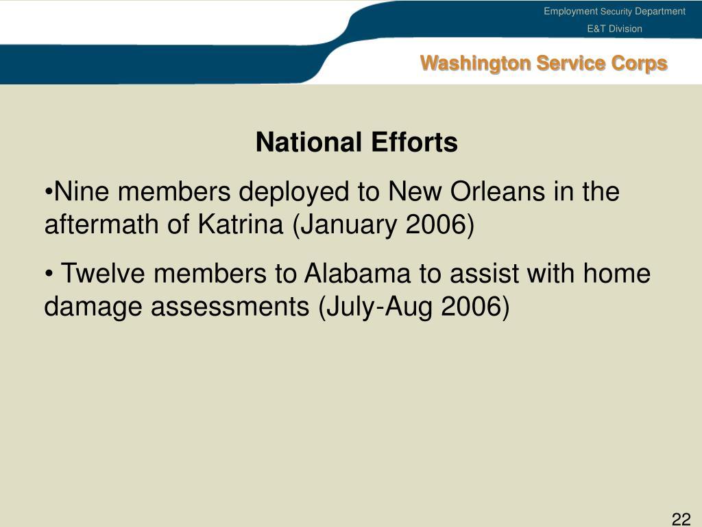 Washington Service Corps