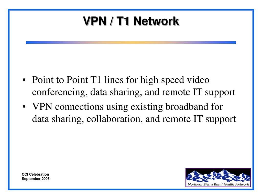 VPN / T1 Network