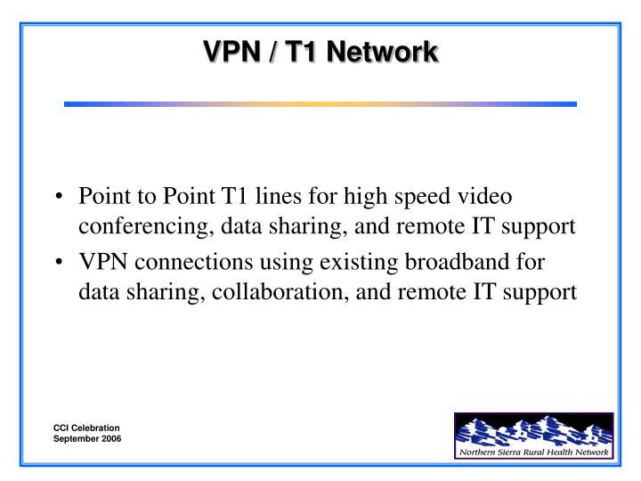 Vpn t1 network