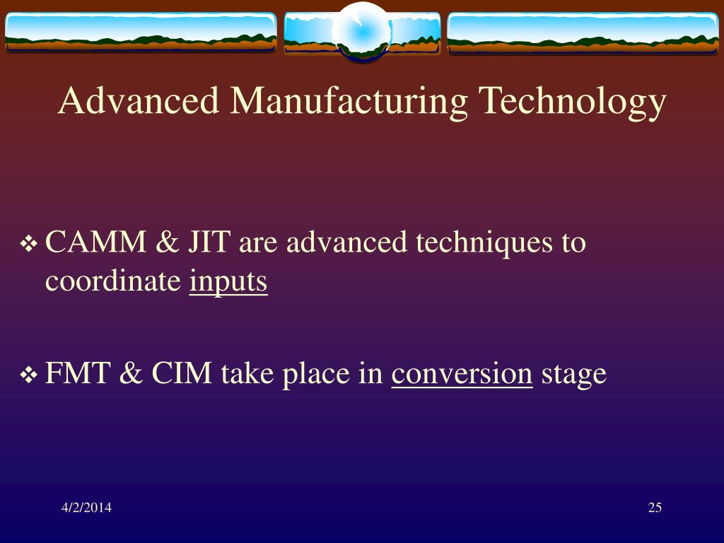 Advanced Manufacturing Technology