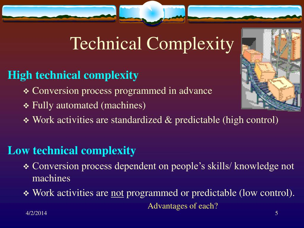 Technical Complexity