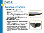 solution scalability