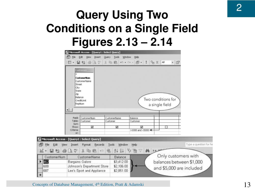 Query Using Two