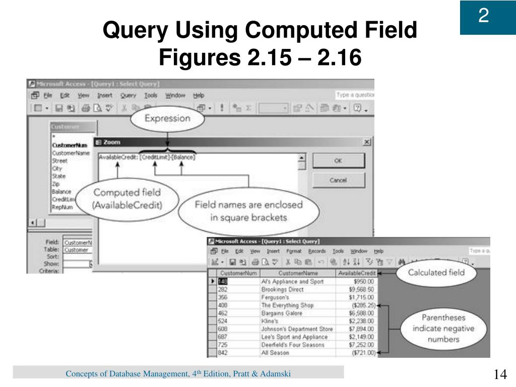 Query Using Computed Field