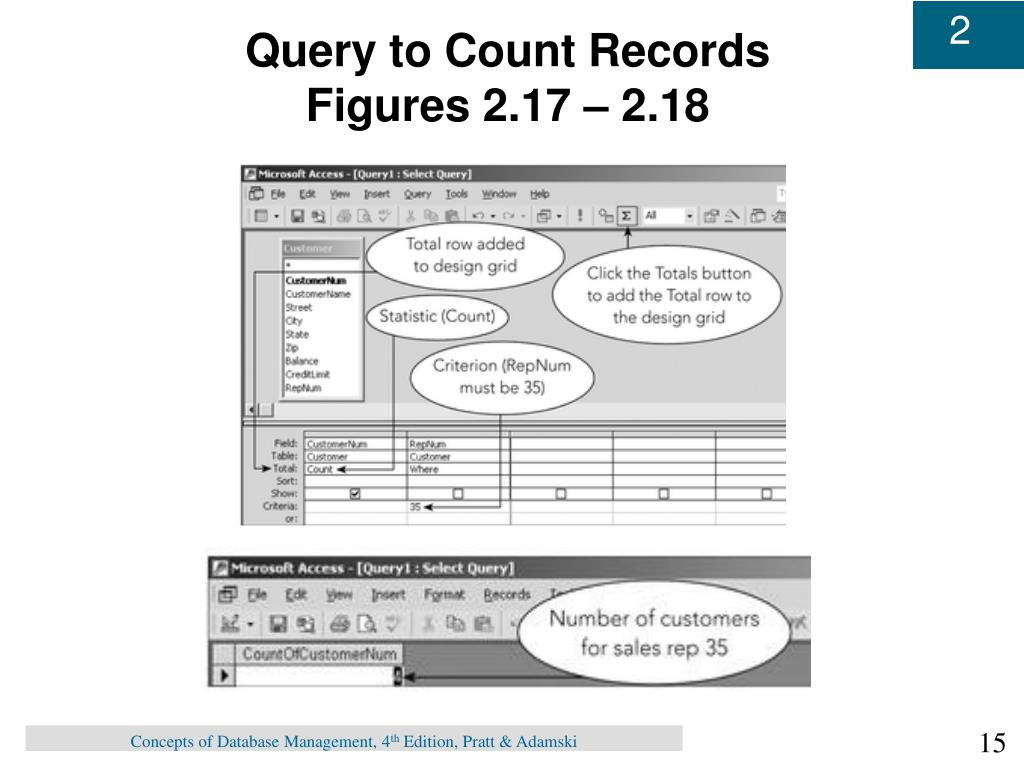Query to Count Records