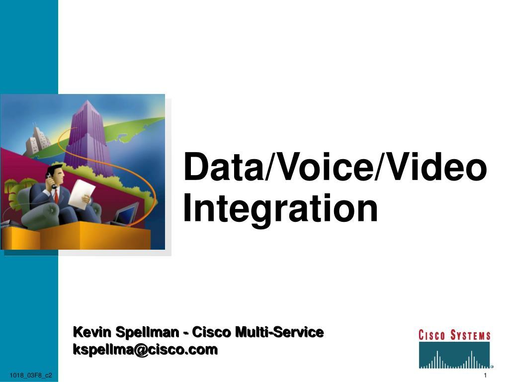 data voice video integration l.