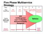 five phase multiservice strategy65