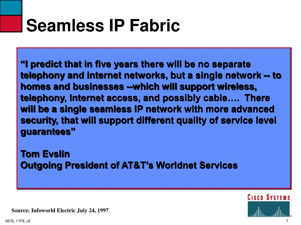 Seamless IP Fabric
