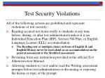 test security violations14