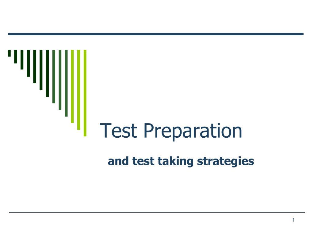 test preparation l.