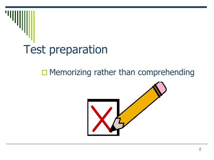 Test preparation2