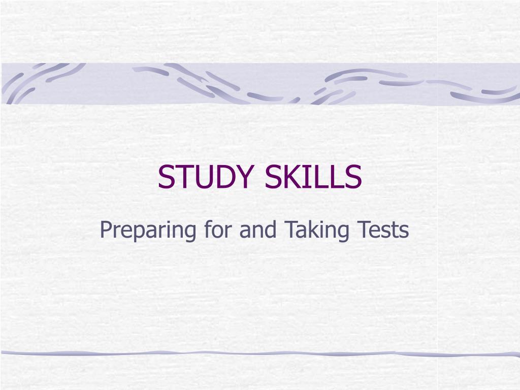 study skills l.