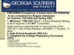 ga southern university