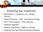 protecting your investment