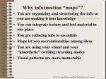 why information maps