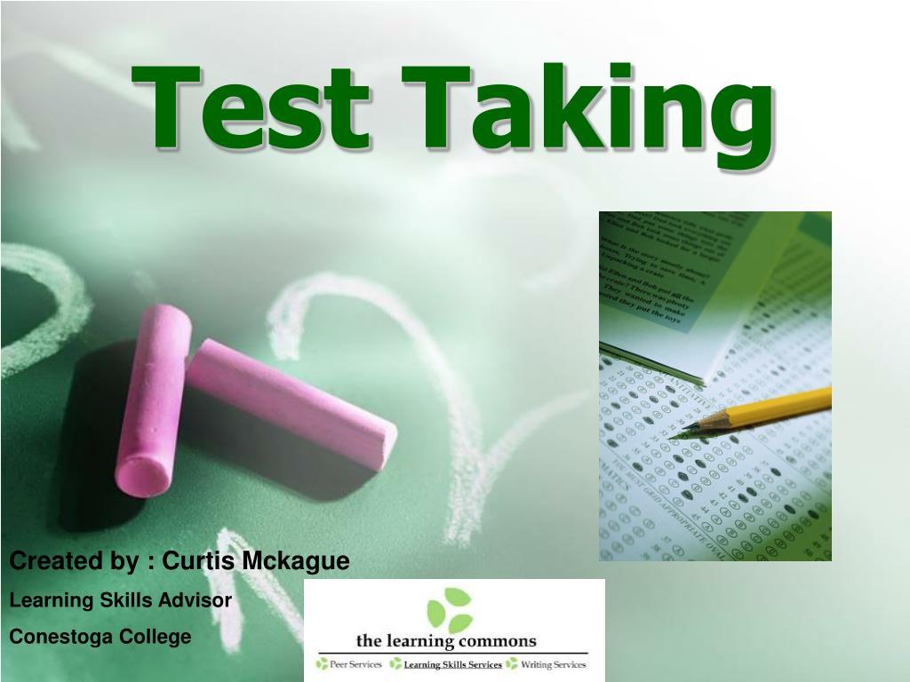 test taking l.
