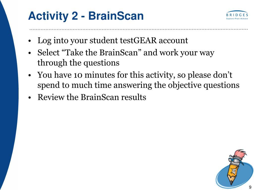 Activity 2 - BrainScan