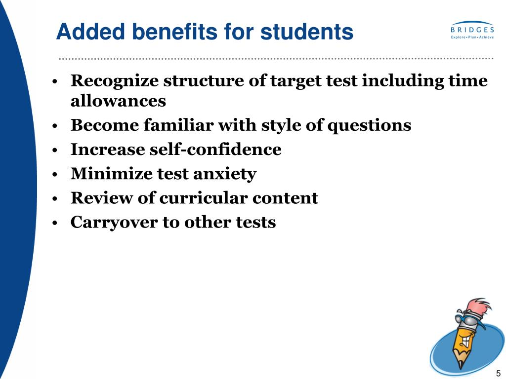 Added benefits for students