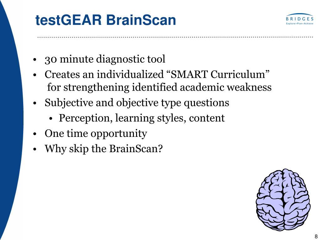 testGEAR BrainScan