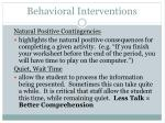 behavioral interventions59