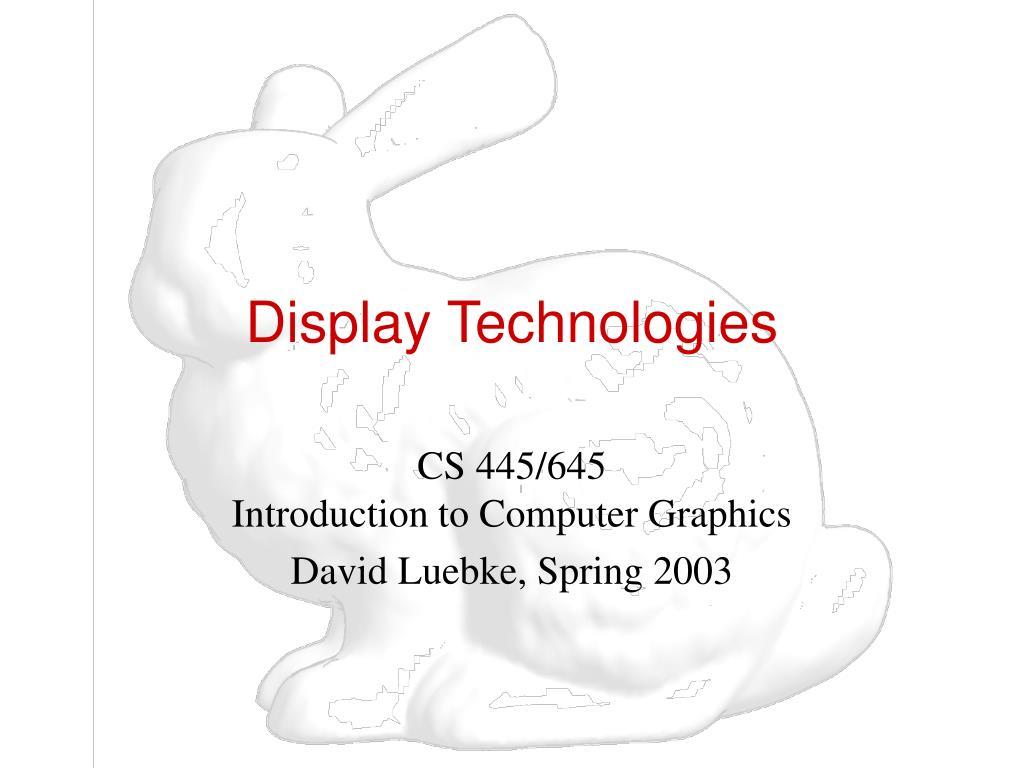display technologies l.