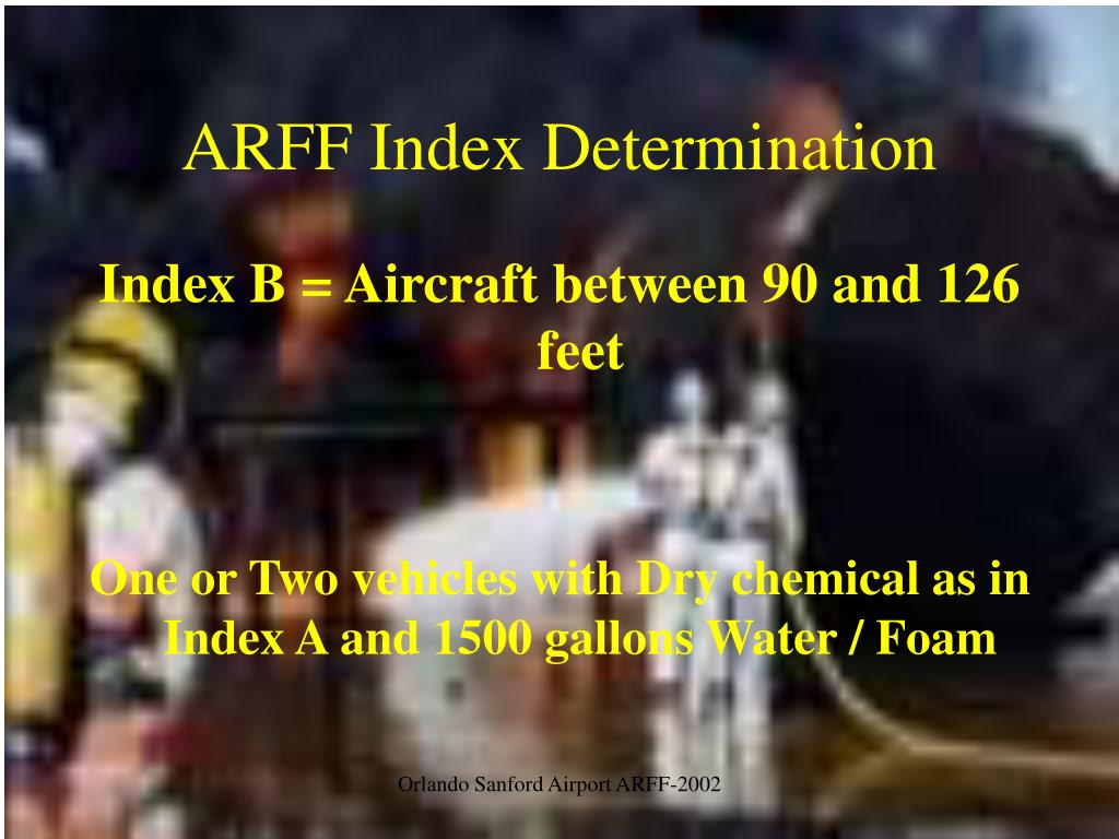 ARFF Index Determination