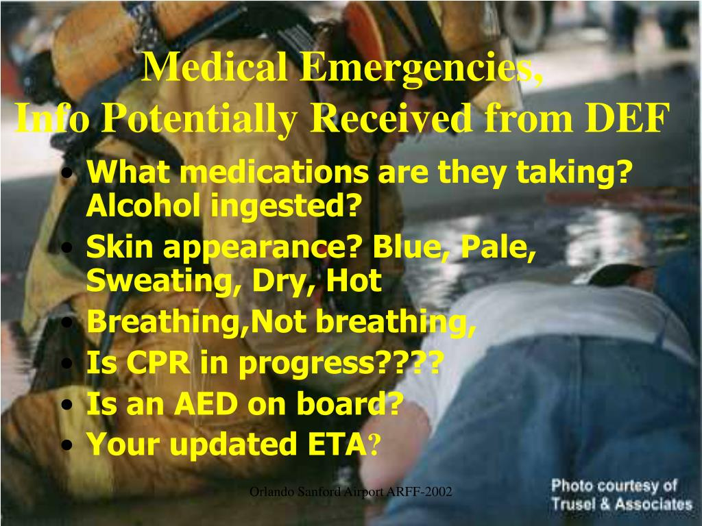Medical Emergencies,