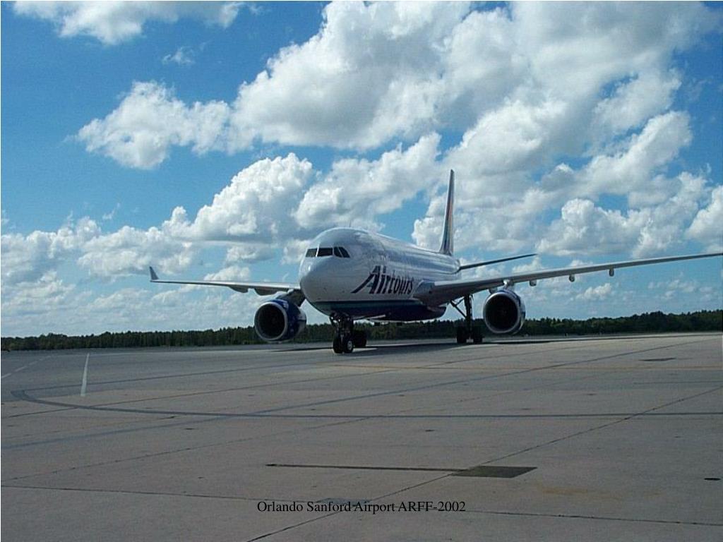 Orlando Sanford Airport ARFF-2002