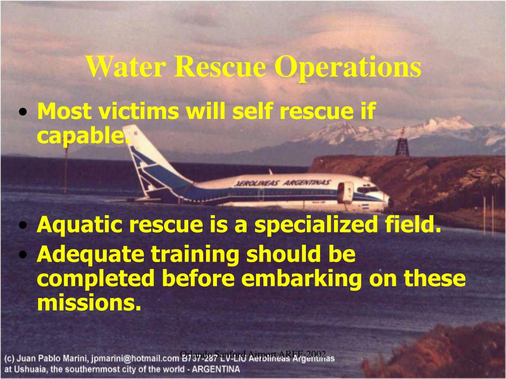 Water Rescue Operations