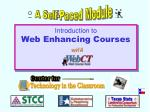 introduction to web enhancing courses with