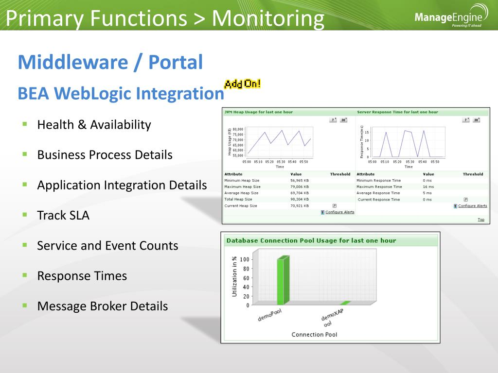 Primary Functions > Monitoring