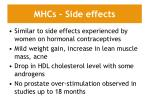 mhcs side effects