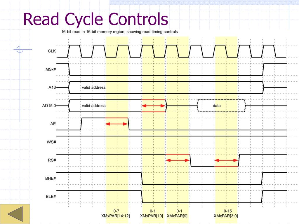 Read Cycle Controls