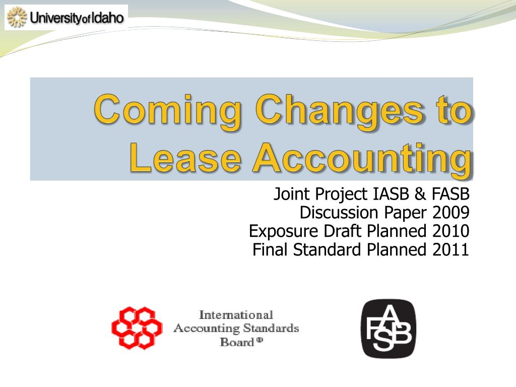 coming changes to lease accounting l.
