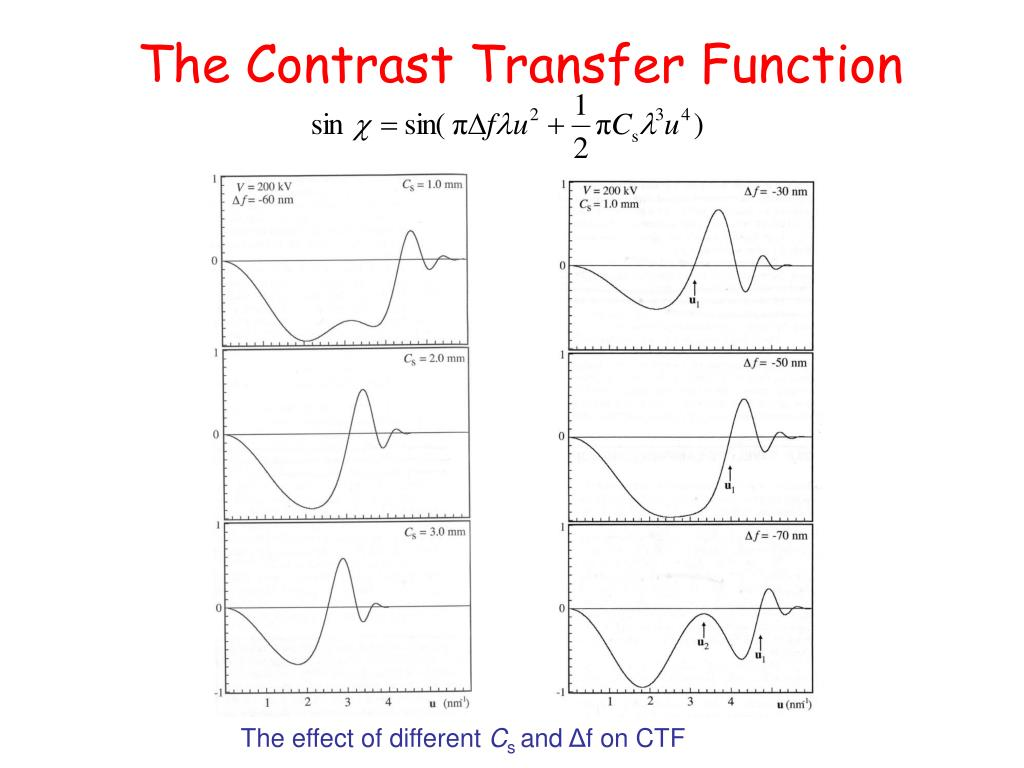 The Contrast Transfer Function