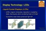display technology lcds