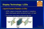 display technology lcds8