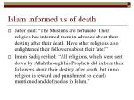 islam informed us of death