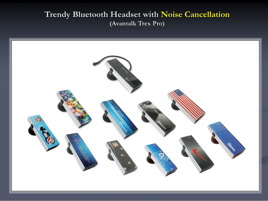 Trendy Bluetooth Headset with