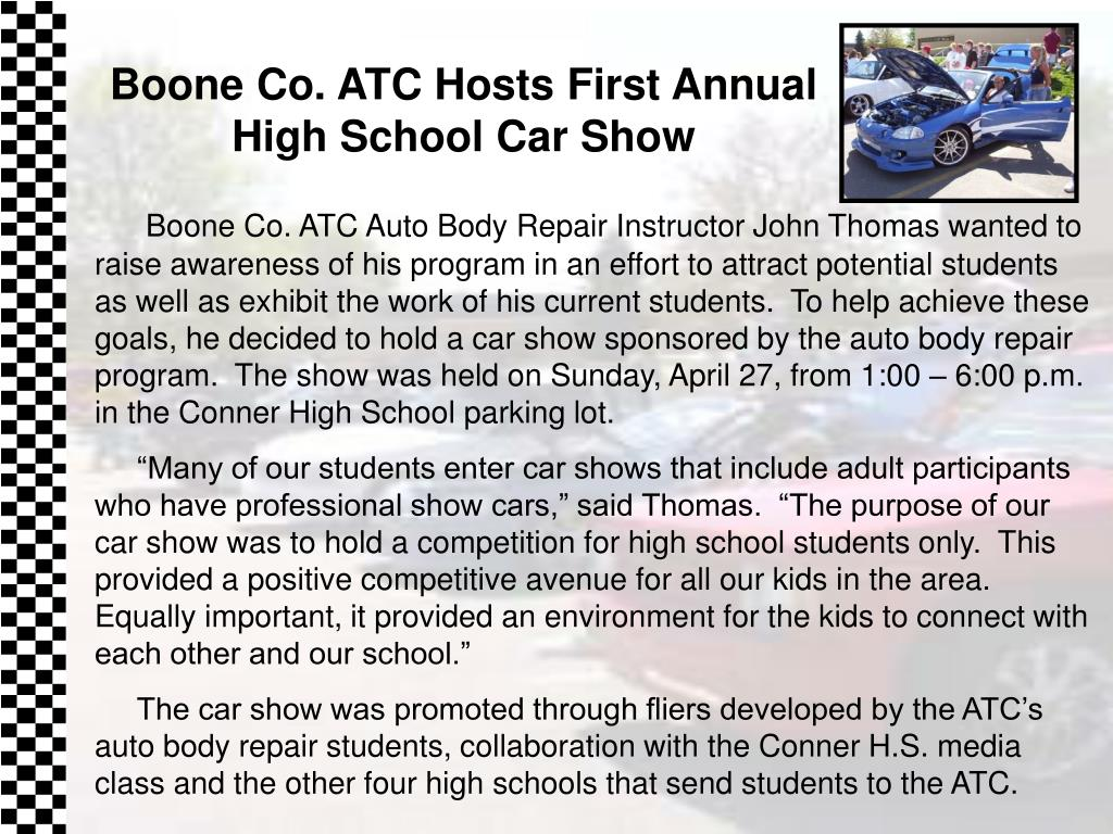 Boone Co. ATC Hosts First Annual