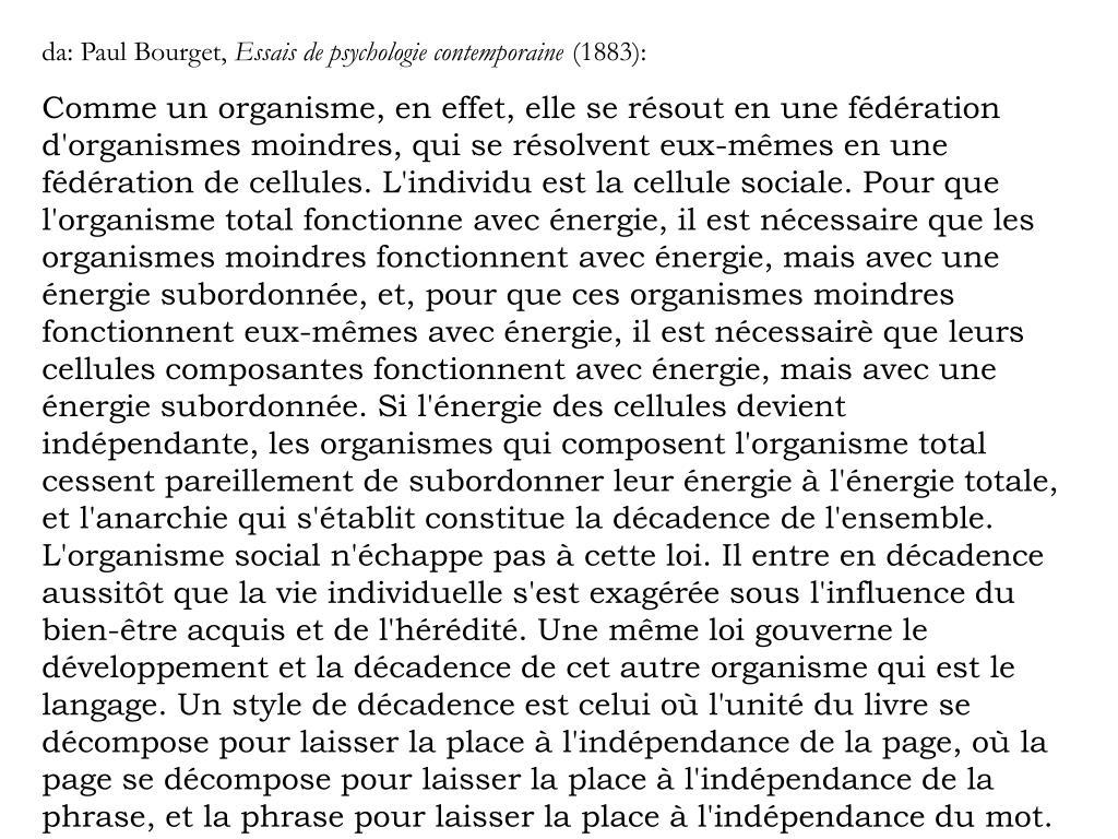 da: Paul Bourget,
