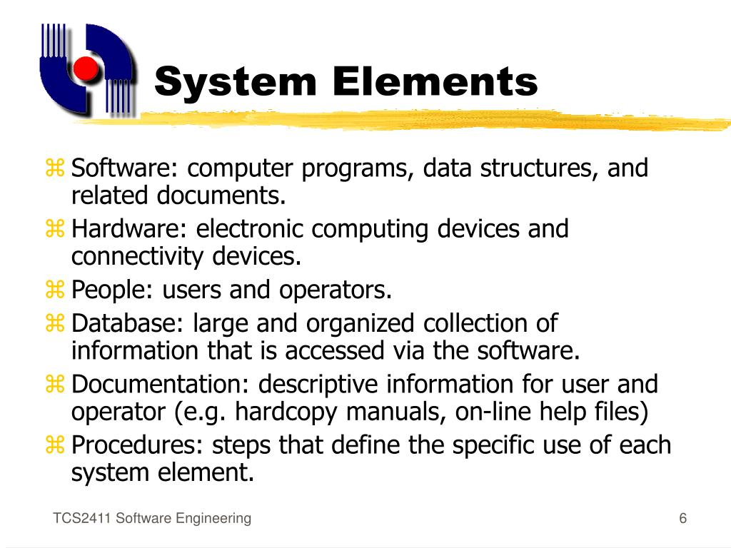 System Elements