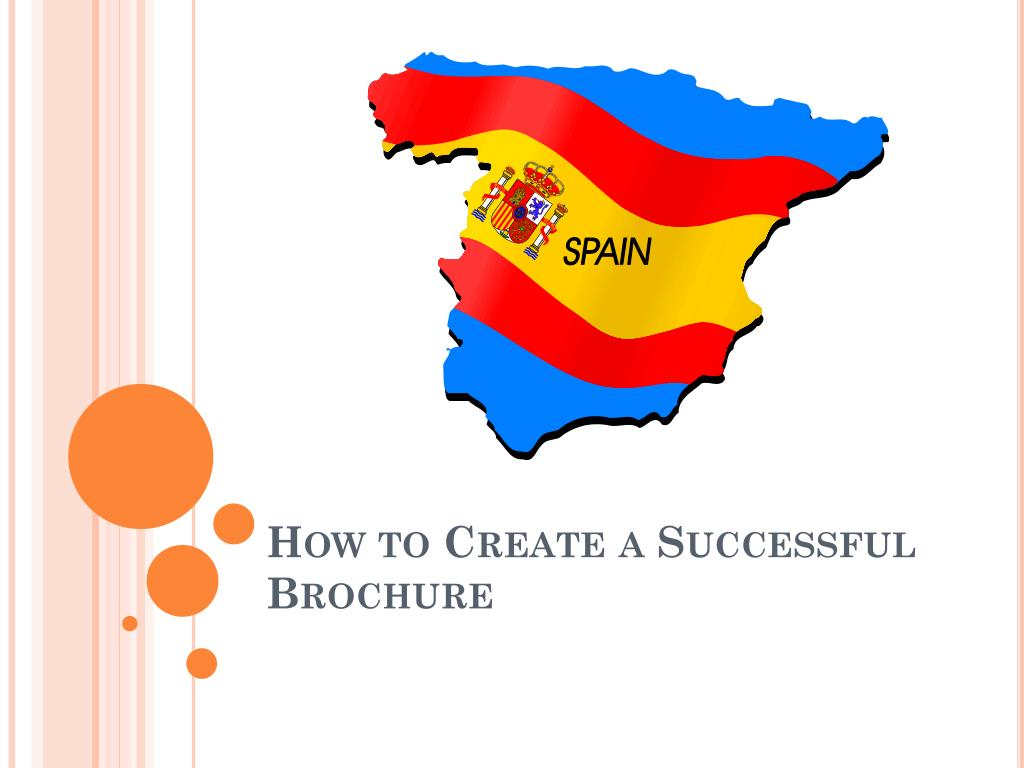 how to create a successful brochure l.