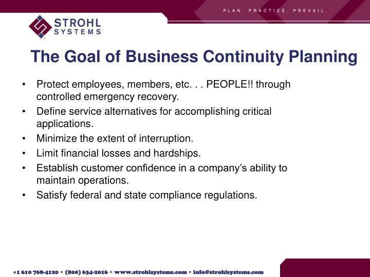 Goals of business resumption planning my blog about may2018 gallery of goals of business resumption planning accmission Gallery