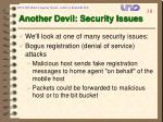 another devil security issues