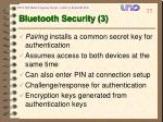 bluetooth security 3