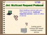 jini multicast request protocol89