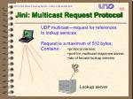 jini multicast request protocol90