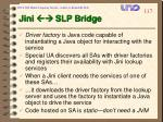 jini slp bridge